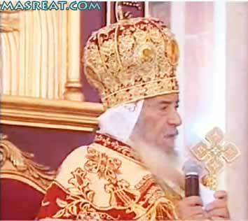 اعلان خبر وفاة قداسة البابا شنودة الثالث وتقرير فيديو يوتيوب