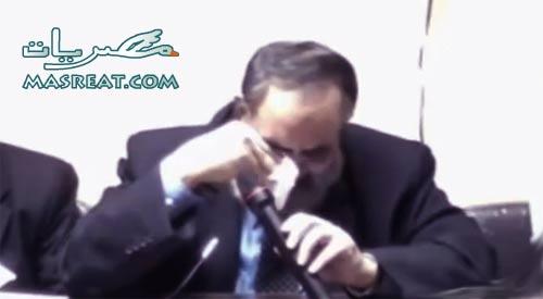 بكاء حازم صلاح ابو اسماعيل