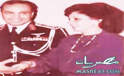 صورة قديمة للفريق احمد شفيق مع زوجته رحمها الله