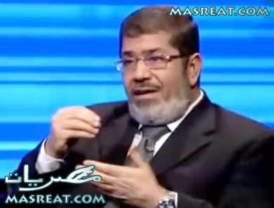 محمد مرسي مرشح الاخوان في انتخابات الرئاسة 2012 رئيسا لمصر