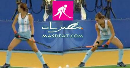اولمبياد لندن ٢٠١٢ - استعداد لضرب كرة هوكي
