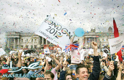 مشاهدة حفل افتتاح اولمبياد لندن 2012 بمشاركة ابطال البعثة المصرية