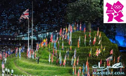 اعلان نتائج ترتيب الدول المشاركة في حفل ختام اولمبياد لندن ٢٠١٢