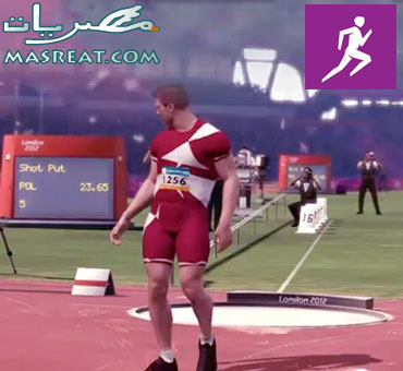 تصفيات دفع الجلة في اولمبياد لندن 2012