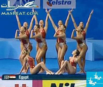 اولمبياد لندن ٢٠١٢- سباحة فرق متزامنة فنية