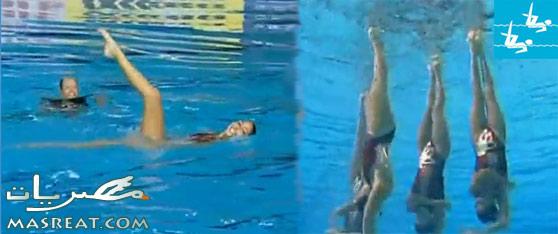 اولمبياد لندن ٢٠١٢: سباحة متزامنة تحت وفوق الماء