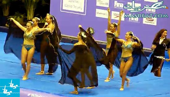 اولمبياد لندن ٢٠١٢: سباحة متزامنة ثنائي - فرق وتألق فتيات مصر