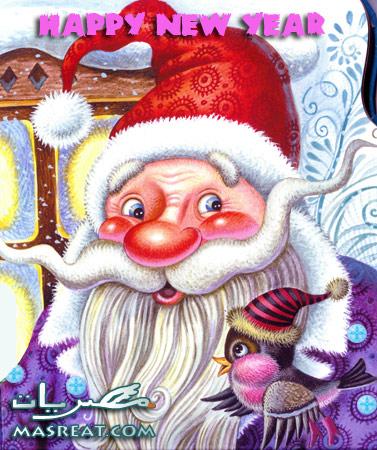 بابا نويل كرتون