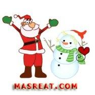 مسجات بابا نويل راس السنة الجديدة