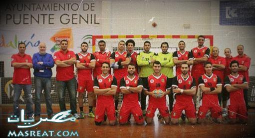 منتخب مصر لكرة اليد في نصف نهائي كأس امم افريقيا بالجزائر