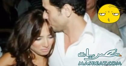 احمد عز مع زينة