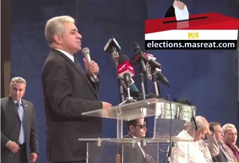 بيان ينفي انسحاب حمدين صباحي من الانتخابات الرئاسية 2014
