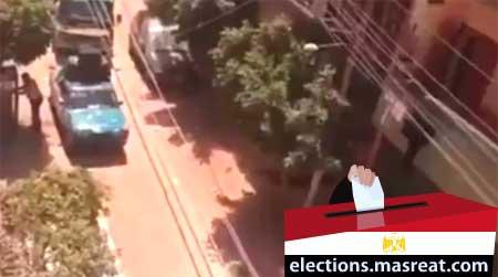 بالفيديو سيارة للناخبين انزل يا روح امك انتخابات الرئاسة
