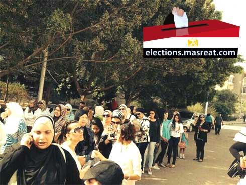 قرار اللجنة العليا للانتخابات الرئاسية 2014 بمد التصويت للعاشرة