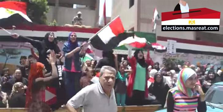 نتيجة انتخابات الرئاسة المصرية النهائية 2014