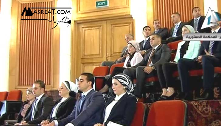 اسرة الرئيس عبد الفتاح السيسي