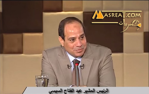 الرئيس عبد الفتاح السيسي يلقي كلمة للشعب المصري