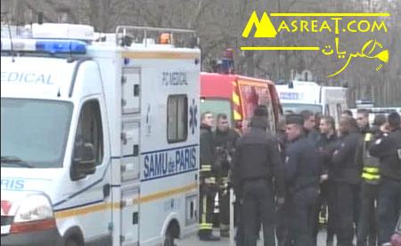 حادثة الهجوم الارهابي في فرنسا