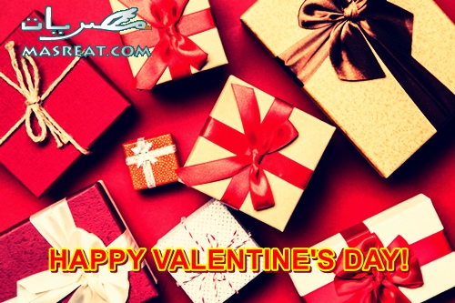 اشكال تغليف هدايا عيد الحب