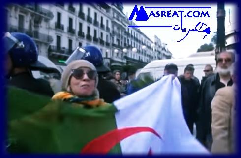 مظاهرات ضد ترشح بوتفليقة في الجزائر