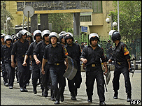 مصرع شرطي وإصابة مسجل خطر في الاسماعيلية