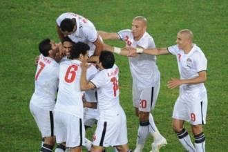 فوز المنتخب المصري ب3 اهداف ببركة ابو تريكة و عبدربه في مرمى رواندا