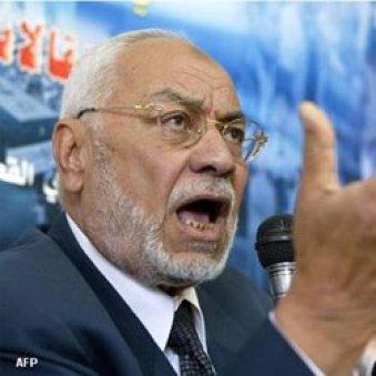 محمد مهدي عاكف المرشد العام السابق لجماعة الاخوان المسلمين