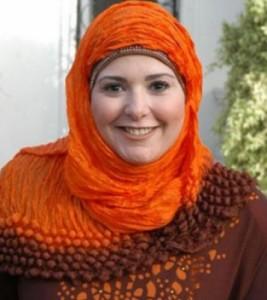 صابرين بعد ارتداء الحجاب