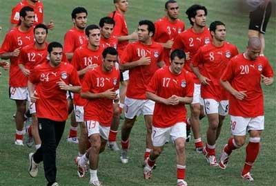 منتخب مصر يحاول اللعب مع موريشيوس قبل مباراة زامبيا