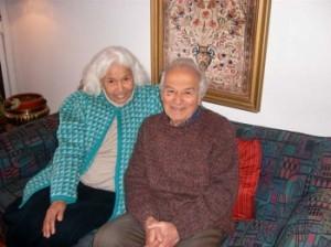 نوال السعداوي مع زوجها