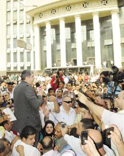 احمد شوبير امام النيابة