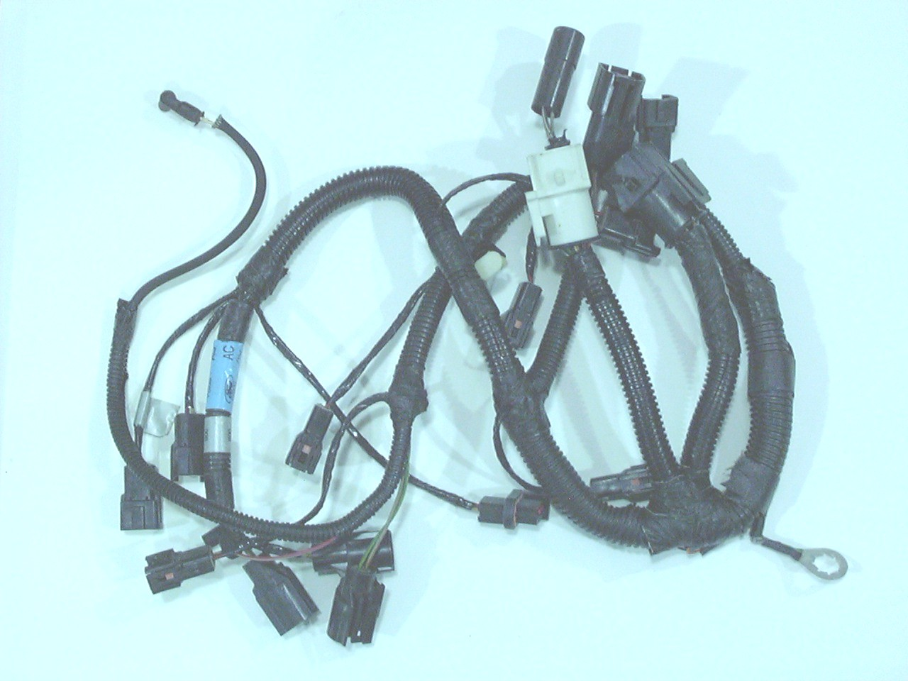 hight resolution of injector harness replacement factory fuel injector harness for 87 93 style mustangs