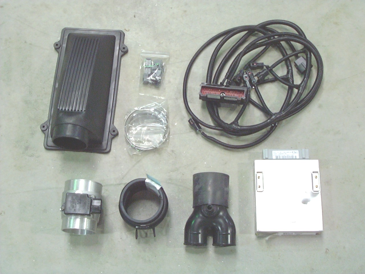 hight resolution of complete kits include engine computer mass air meter hoses injector o2 mass air conversion harness and instructions all kits designed for banked