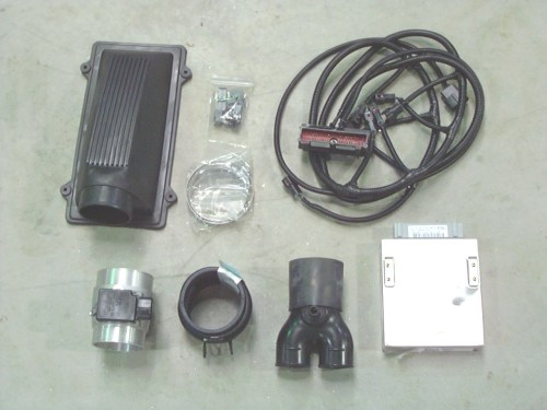 small resolution of complete kits include engine computer mass air meter hoses injector o2 mass air conversion harness and instructions all kits designed for banked