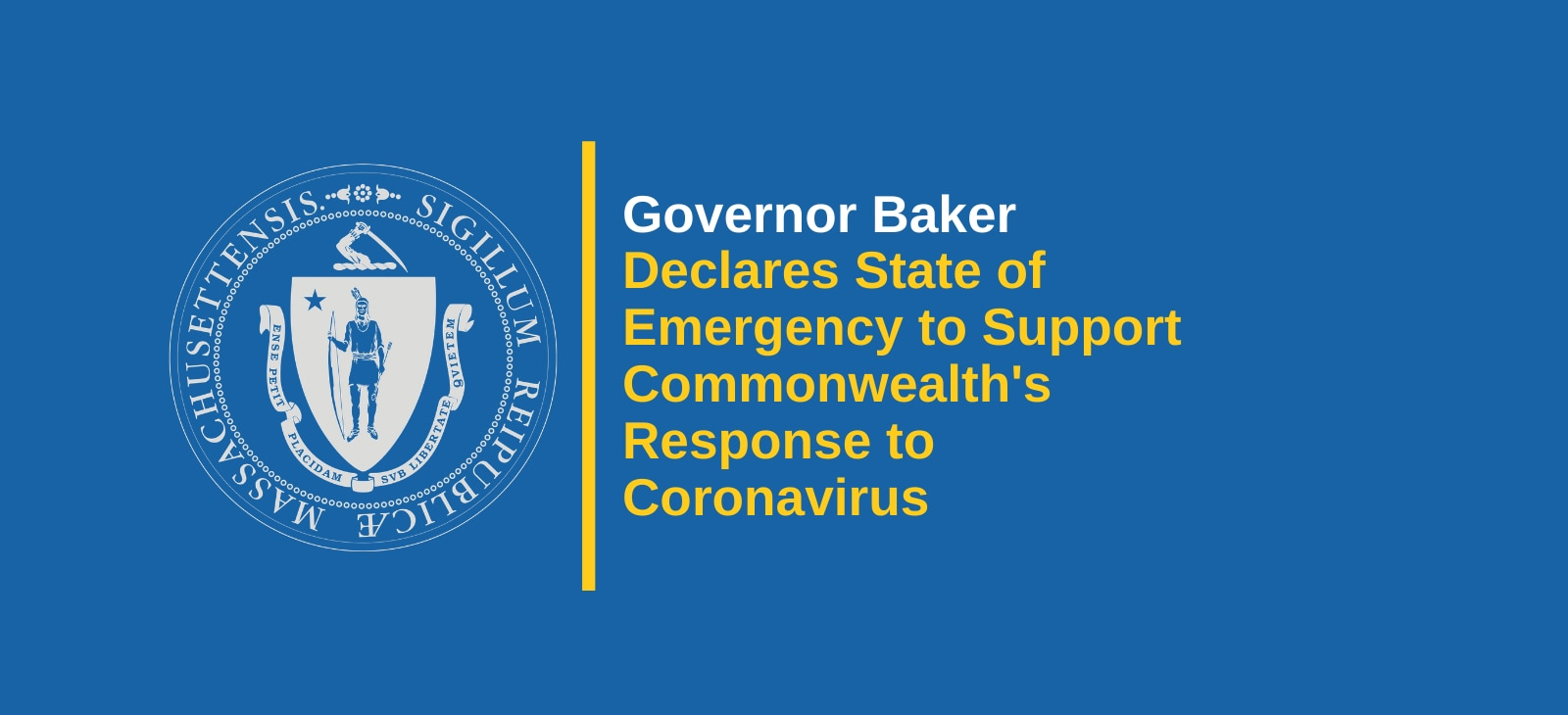 Governor Baker Declares State of Emergency to Support ...