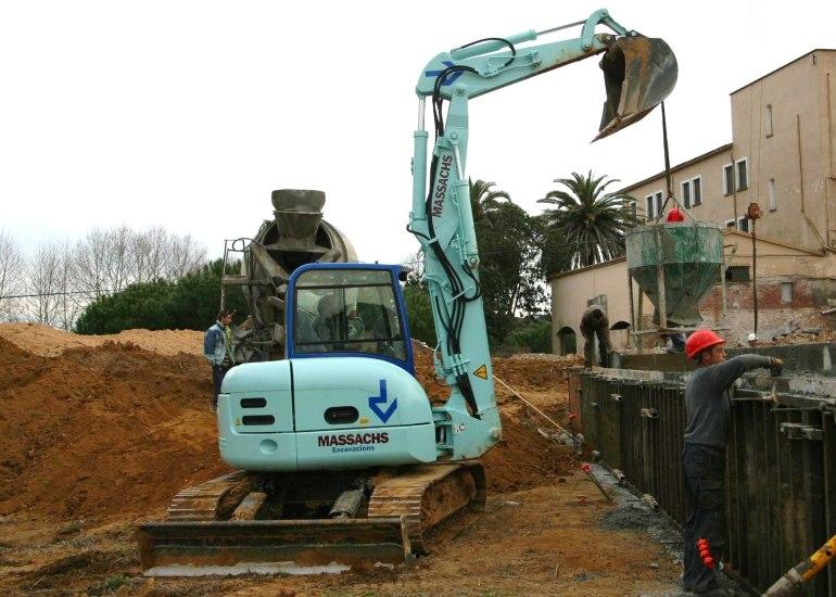 Excavadora Cadenes fins a 8 Tn