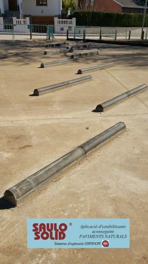 Paviment terra estabilitzada SAULO SOLID Quart08