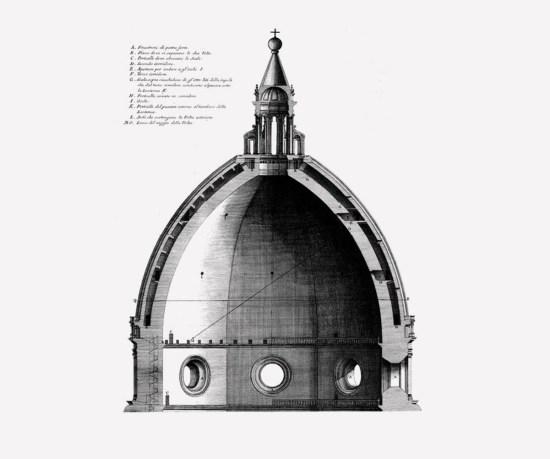 Cupola Brunelleschi disegno 05