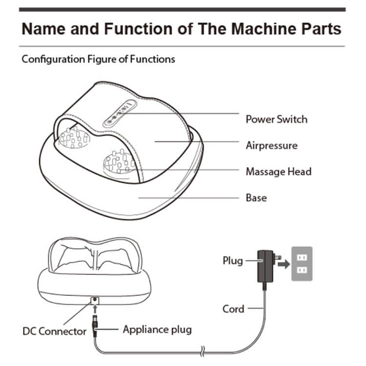 Acupuncture Foot Massage Machine