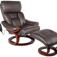 Recliner Chair With Ottoman Manufacturers 16 Round Outdoor Cushions Comfort Vantin Deluxe Massaging And