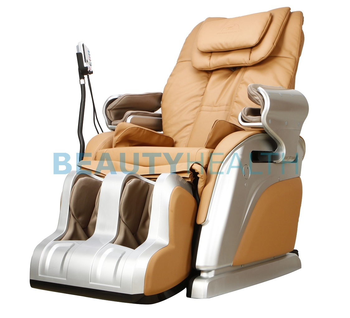 beautyhealth massage chair covers with pockets available colors beige caramel and red