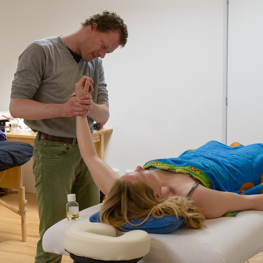 massage, massagecursus, leren masseren, beginners, beginnerscursus, masseren