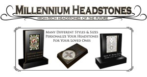 Millennium Headstones - Hi-Tech for the future