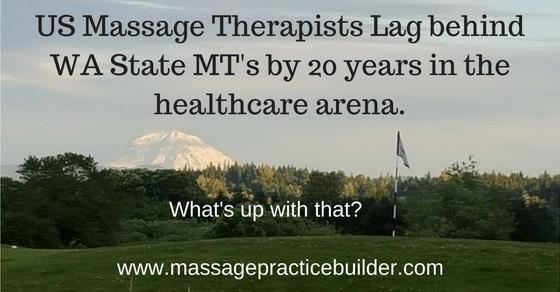 US Massage Therapists Lag Behind WA State.