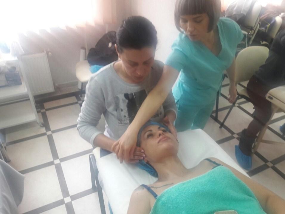 массаж лица фото