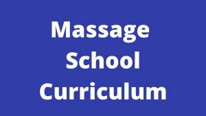 massage school curriculum