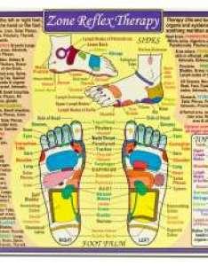 Zone reflex therapy reference chart also charts rh massagesupplies