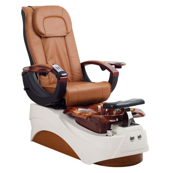 pedicure chair disposable liners brown leather executive enix spa & massage - station spas | wf600 whale