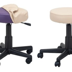 Massage Chair Earthlite Plumbs Dining Room Covers Rolling Stool Cover - Stools And Technicians Chairs
