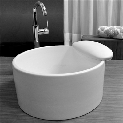 Mode Porcelain Pedicure Sink  Foot Baths  Tubs